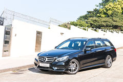 Mercedes-Benz E-Class Avant 2013 Model Stock Photos