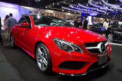 Mercedes-Benz E-Class Cabriolat  Car On Thailand International Motor Expo Royalty Free Stock Photography