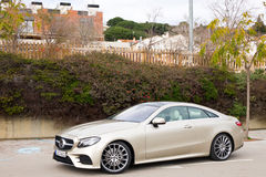 Mercedes-Benz E-Class Coupe 2017 Test Drive Day Stock Photography