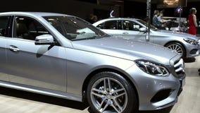 Mercedes-Benz E-Class  E220 Bluetec sedan stock video