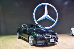 Mercedes-Benz E 220 d Coupe Zdjęcie Stock