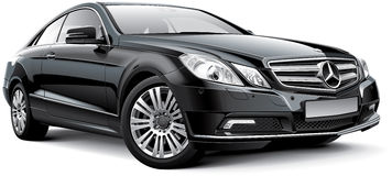 Mercedes-Benz-e-Klasse W212 Coupé Royalty-vrije Stock Afbeeldingen