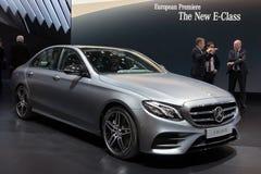 2015 Mercedes-Benz E400 4MATIC Coupe samochód Zdjęcia Stock