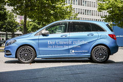 Mercedes Benz electric car Stock Photography