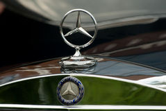 Mercedes-Benz emblem Royalty Free Stock Photo