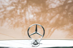Mercedes-Benz emblem Royalty Free Stock Photography