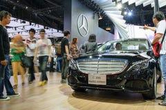 Mercedes-Benz en el 36.o salón del automóvil internacional 2015 de Bangkok Imagenes de archivo