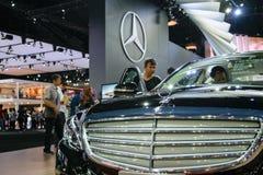 Mercedes-Benz en el 36.o salón del automóvil internacional 2015 de Bangkok Fotos de archivo libres de regalías