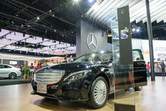 Mercedes-Benz en el 36.o salón del automóvil internacional 2015 de Bangkok Foto de archivo