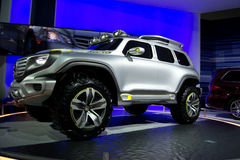 Mercedes-Benz Ener-G-Force Concept. SUV Royalty Free Stock Photography