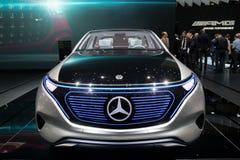 Mercedes Benz EQ Concept car Stock Photography