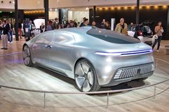 Mercedes-Benz F015 luksus w ruchu pojęcia samochodzie obrazy stock