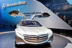 Mercedes-Benz F125 Concept Car Stock Photos