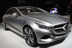 Mercedes-Benz F800 style car stock image
