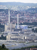 Mercedes Benz fabrik i Stuttgart, Tyskland Royaltyfri Foto