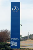 Mercedes Benz factory in Vance, Alabama Royalty Free Stock Image