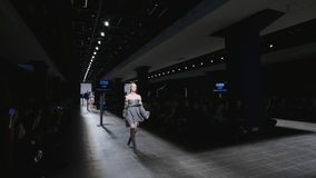 Mercedes-Benz Fashion Day St Petersburg 2017 stock video footage