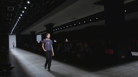 Mercedes-Benz Fashion Day St Petersburg 2017 stock footage