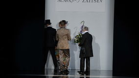Mercedes-Benz Fashion Day St Petersburg stock video footage