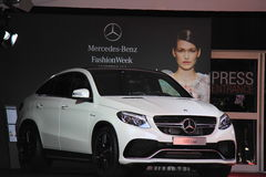 Mercedes benz fashion week amsterdam Royalty Free Stock Photo