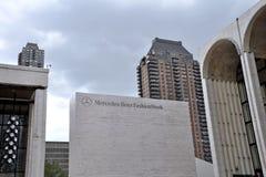 Mercedes Benz Fashion Week en Lincoln Center Foto de archivo libre de regalías