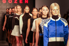 Mercedes-Benz Fashion Week Istanbul Stock Photography