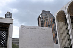 Mercedes Benz Fashion Week at Lincoln Center Royalty Free Stock Photo