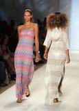 Mercedes-Benz Fashion Week Swim im Miami Beach stockbilder