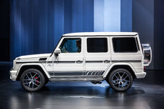 Mercedes Benz G 63 à l'IAA 2015 Photos stock