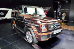 Mercedes-Benz G65 AMG SUV Royalty Free Stock Image