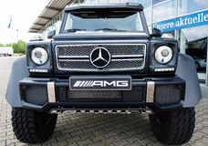 Mercedes Benz G-Class, AMG, frontview Stock Image