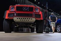 Mercedes-Benz G-class. Los Angeles, USA - November 16, 2016: Mercedes-Benz G-class on display during the Los Angeles Auto Show Stock Photo
