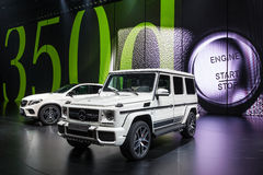 Mercedes Benz G 63 at the IAA 2015 Royalty Free Stock Photography