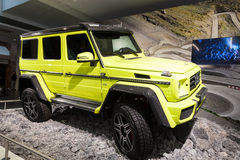 Mercedes Benz G 63 at the IAA 2015 Stock Image