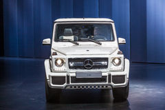 Mercedes Benz G 63 at the IAA 2015 Stock Images