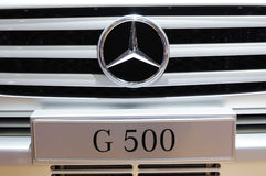 Mercedes benz  g500 suv  Royalty Free Stock Image