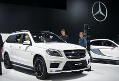 Mercedes-Benz GL 63 AMG Royaltyfri Bild