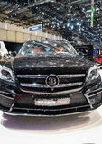 Mercedes-Benz GL63 AMG Brabus 700, Motor Show Geneve 2015 Stock Photo