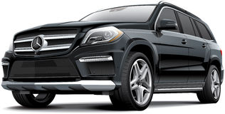 Mercedes-Benz GL 63 AMG Stock Photo
