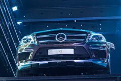 Mercedes Benz GL at the IAA 2015 Stock Photography