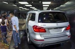 Mercedes-Benz GL400 4MATIC Dynamic SUV Stock Photo