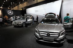 Mercedes Benz GLA-Class at the AMI. Leipzig, Germany Stock Photography