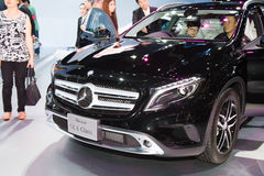 Mercedes-Benz GLA-Class car on display Royalty Free Stock Photos