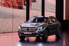 Mercedes Benz GLA at the IAA 2015 Royalty Free Stock Images