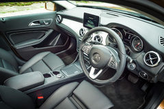 Mercedes-Benz GLA 200 inre Arkivfoton