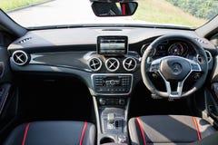 Mercedes-Benz GLA 45 2014 Interior Stock Photography