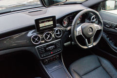 Mercedes-Benz GLA 4MATIC 2014 Interior Stock Image