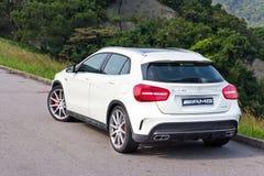 Mercedes-Benz GLA 45 2014 test drive Royalty Free Stock Photos