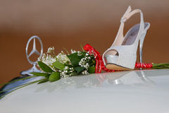 Mercedes Benz glamour Royaltyfria Bilder