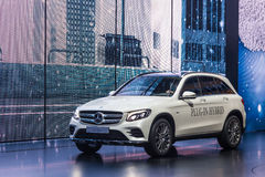 Free Mercedes Benz GLC 350 E At The IAA 2015 Stock Photo - 60327810